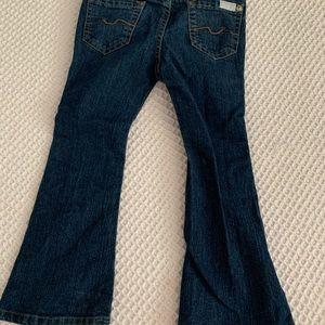 Seven for Mankind Bell Bottom jeans.